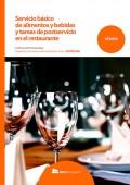 Servicio básico de alimentos y bebidas y tareas de postservicio en el restaurante