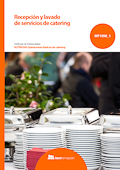 Recepción y lavado de servicios de catering