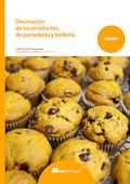 Decoración de los productos de panadería y bollería