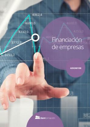 Certificado de profesionalidad de Financiación de empresas