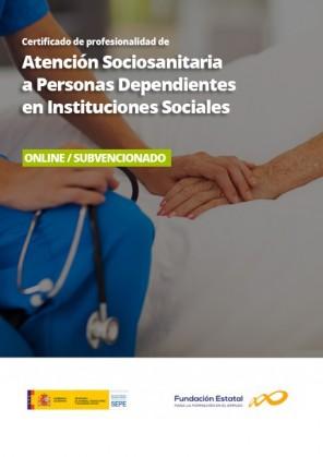 Certificado de Atención Sociosanitaria a Personas Dependientes en Instituciones Sociales