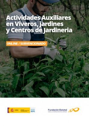 Certificado de Actividades Auxiliares en Viveros, jardines y Centros de Jardineria