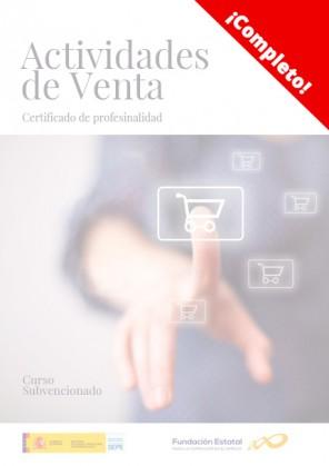 Certificado de profesionalidad de Actividades de venta
