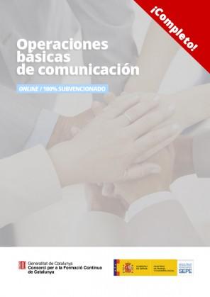 Operaciones básicas de comunicación
